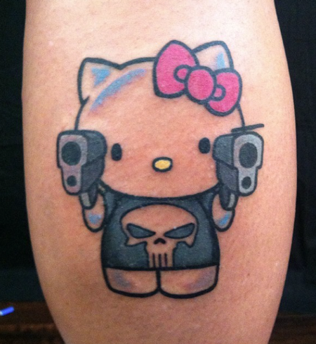 Tattoos - Hello Kitty Punisher - 101551